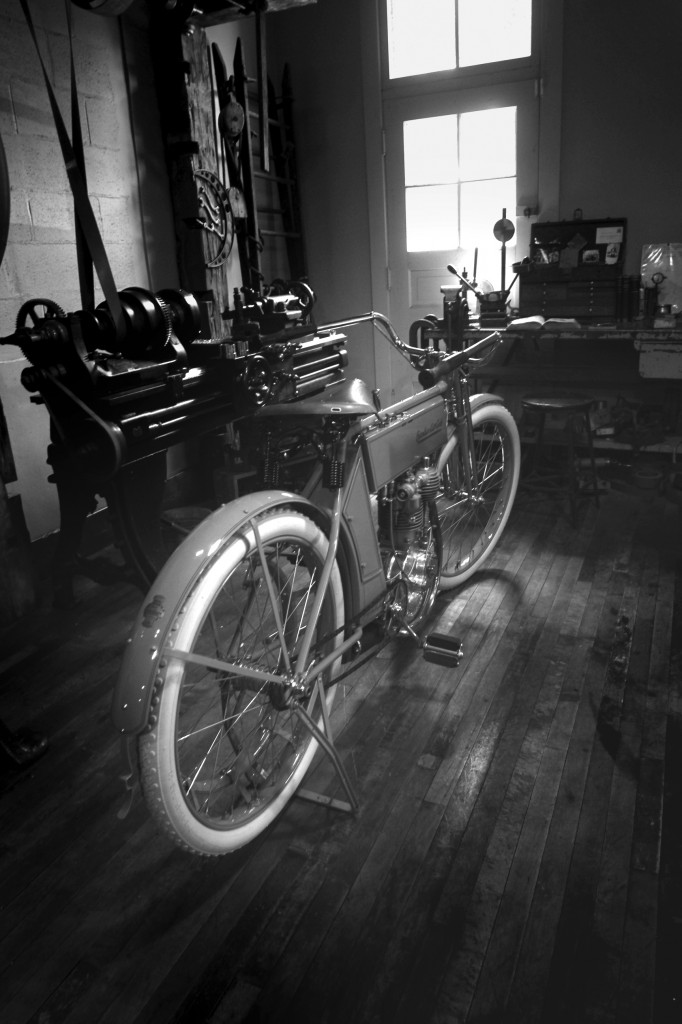 1909 Excelsior B&W