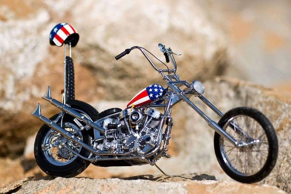 classic captain america chopper - photo #23