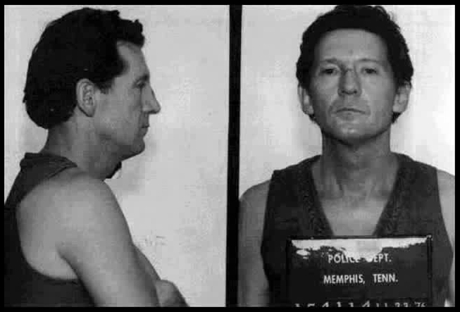 Jerry Lee Lewis Mugshot