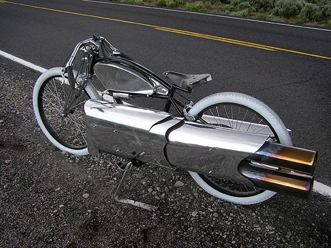 Robert Maddox ROCKET PROPELLED Motorcycle